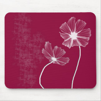 Pink Flowerz Mouse Pad