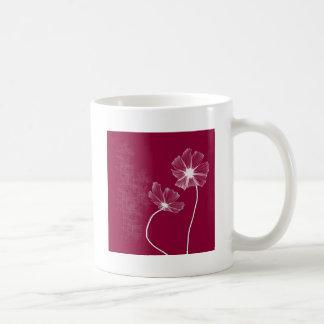 Pink Flowerz Classic White Coffee Mug