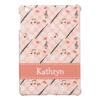 Pink Flute iPad Mini Cover
