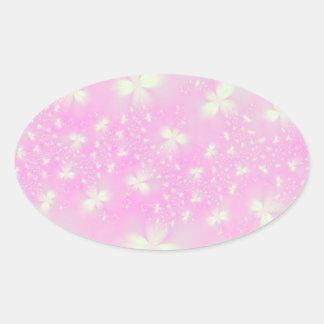 Pink Flutterbyes Sticker