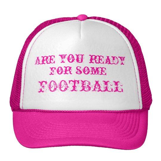 Pink Football Hat