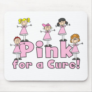 Pink For a Cure Mousepad