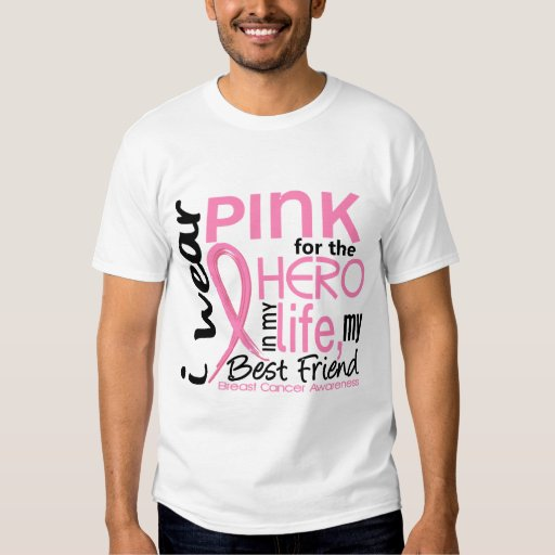 Pink For Hero In Life 2 Best Friend Breast Cancer T-Shirt