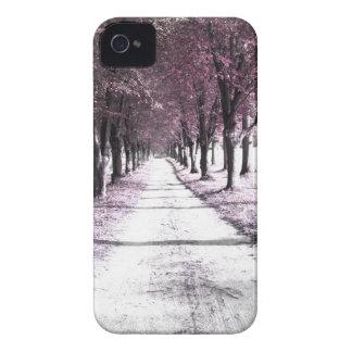 pink forrest gump road iPhone 4 case