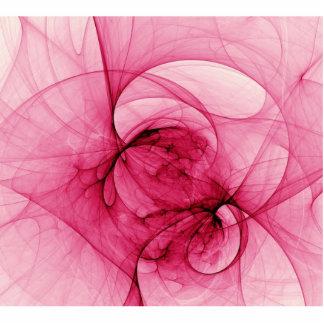 Pink Fractal Art Photo Cutout