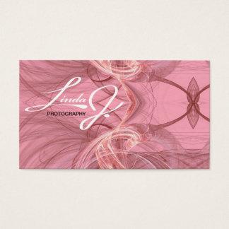 Pink Fractal Business Card