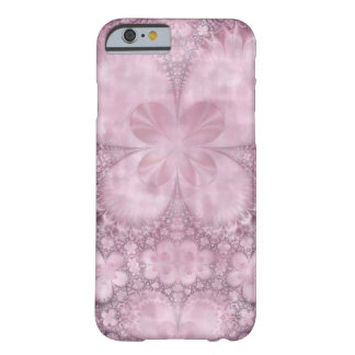Pink Fractal Flower Butterfly Barely There iPhone 6 Case