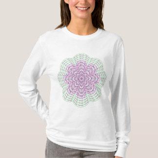 Pink Fractal Flower Shirt
