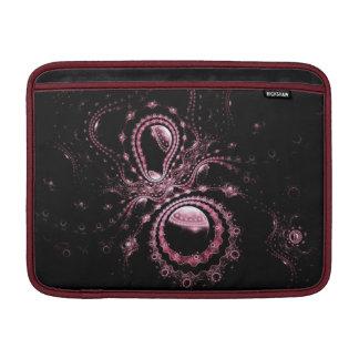 Pink Fractal Planets MacBook Sleeve