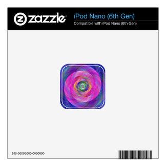 Pink fractal iPod nano skin