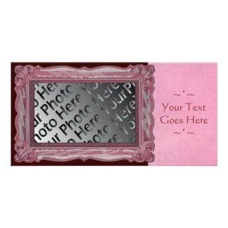 Pink Frame Photo Card