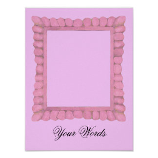 Pink Frame Photo Insert ~ Poster / Print