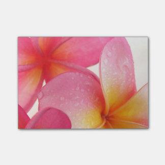 Pink Frangipani Post-it® Notes 10.2 x 7.6