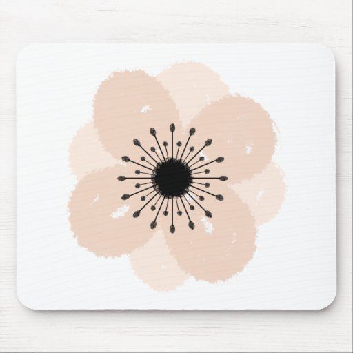 Pink French Anemone Mousepad