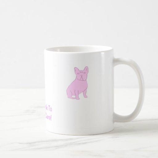 Pink French Bulldog Coffee Mug