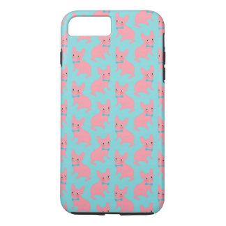 Pink Frenchie - What's Up? iPhone 7 Plus Case