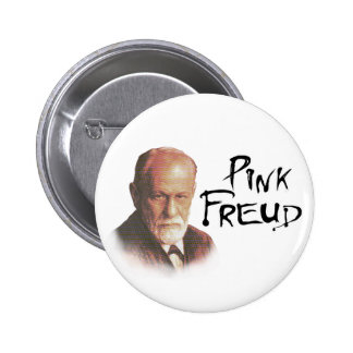 Pink Freud Button
