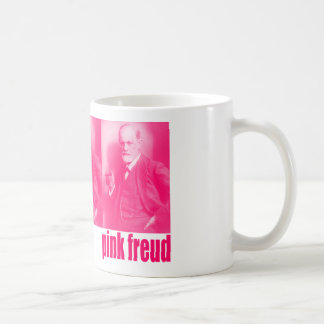 Pink Freud Coffee Mug
