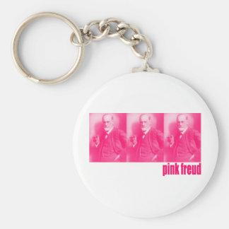 Pink Freud Keychain