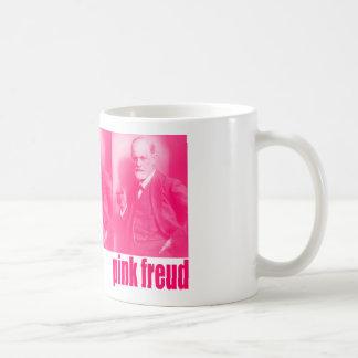 Pink Freud Classic White Coffee Mug