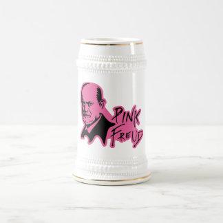 PINK FREUD Psychoanalysis Sound Edition 18 Oz Beer Stein