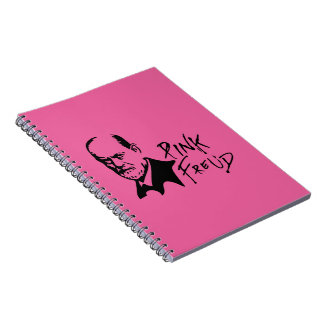 PINK FREUD Psychoanalysis Sound Edition Notebook
