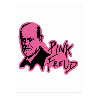 PINK FREUD Psychoanalysis Sound Edition Postcard
