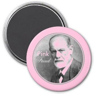 Pink Freud Psychology Humor Magnet