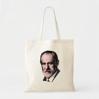 Pink Freud Sigmund Freud Canvas Bag