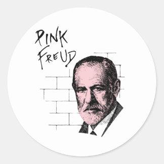 Pink Freud Sigmund Freud Classic Round Sticker