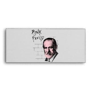 Pink Freud Sigmund Freud Envelopes