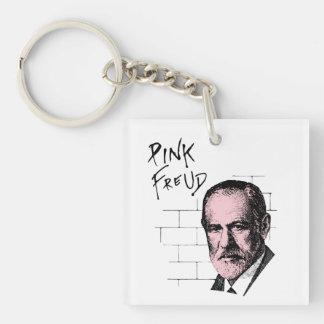 Pink Freud Sigmund Freud Keychain