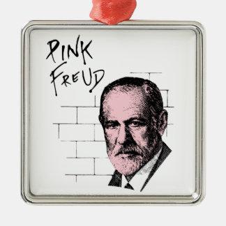 Pink Freud Sigmund Freud Metal Ornament