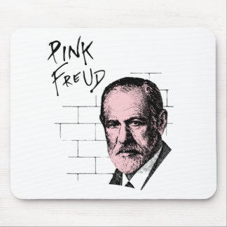 Pink Freud Sigmund Freud Mouse Pad
