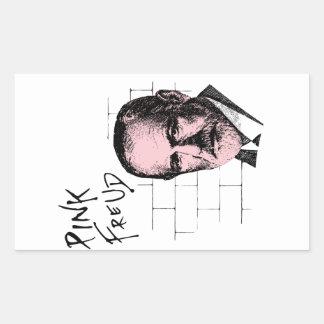 Pink Freud Sigmund Freud Rectangular Sticker