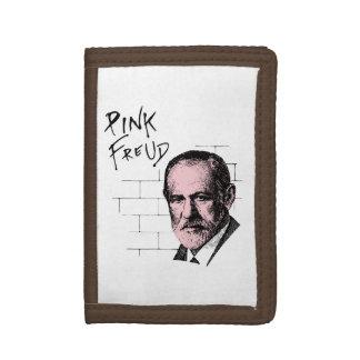 Pink Freud Sigmund Freud Trifold Wallet