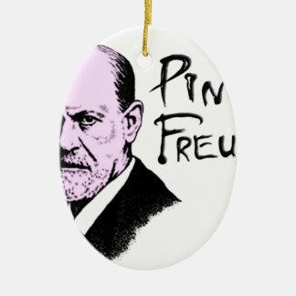 Pink Freud T-Shirt Great Quality Pink Floyd Ceramic Ornament