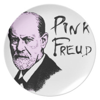 Pink Freud T-Shirt Great Quality Pink Floyd Dinner Plate