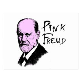 Pink Freud T-Shirt Great Quality Pink Floyd Postcard