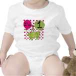 Pink Frog 1st Birthday Tshirts and Gifts