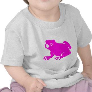 Pink frog t-shirts