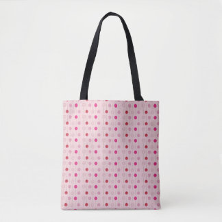Pink Frosted Cake Pop Pops Sprinkles Print Tote