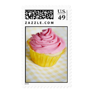 Pink Frosted Cupcake Postage