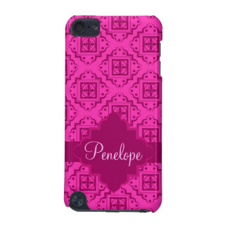 Pink Fuchsia& Magenta Arabesque Moroccan Graphic iPod Touch 5G Covers
