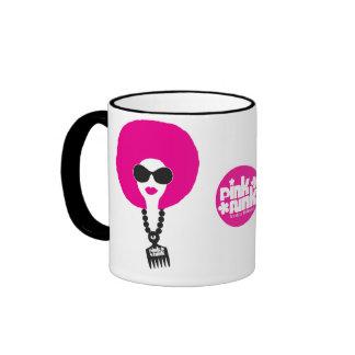 Pink Funk Afro Chick Dope Stuff Mug