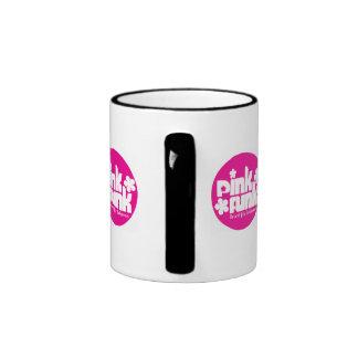 Pink Funk Afro Puff Chick Mug