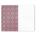Pink Funky Trendy Retro Abstract Pattern Journal