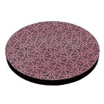 Pink Funky Trendy Retro Abstract Pattern Poker Chip Set