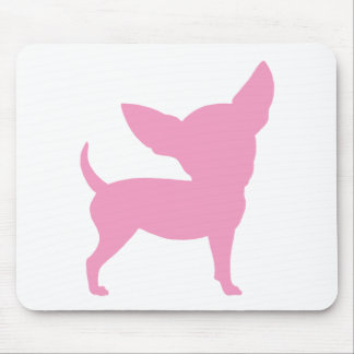 Pink Funny Chihuahua Mouse Pad