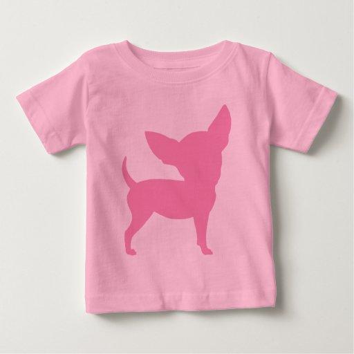 Pink Funny Chihuahua Tee Shirt